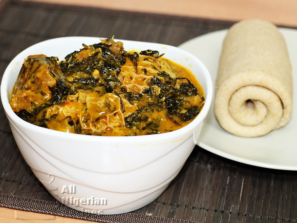 Rolled Semo, Rolled Pounded Yam