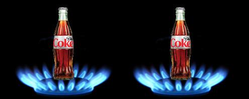 what happens if you boil coke