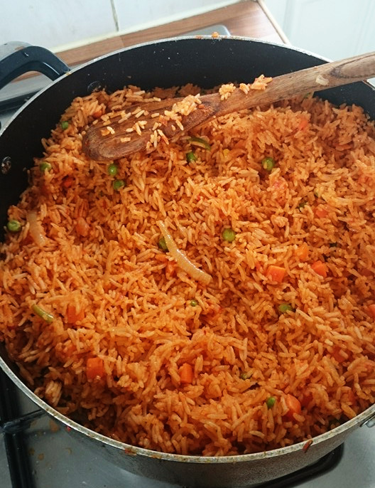 jollof rice by chinwe