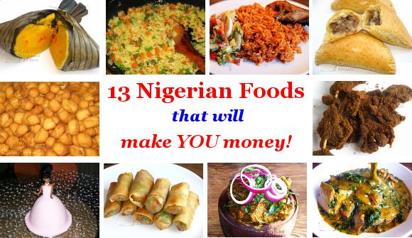 Make Money with Nigerian Food