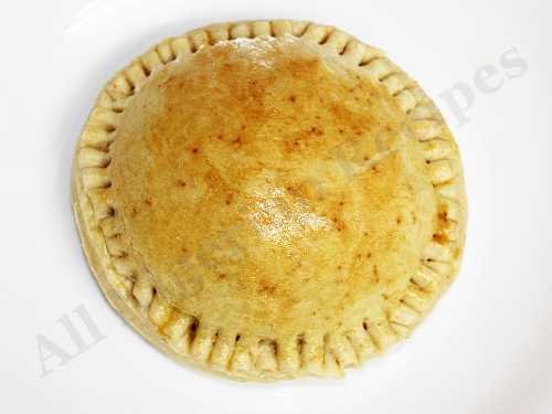 Disc Shaped Nigerian Meat Pies