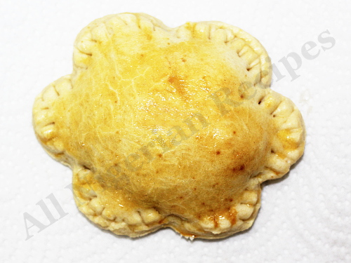 Flower Shaped Nigerian Meat Pies