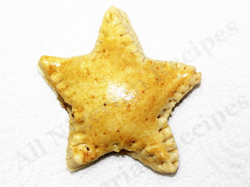 Star Shaped Nigerian Meat Pies
