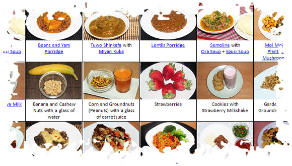 Nigerian Meal Plan, Food Time Table