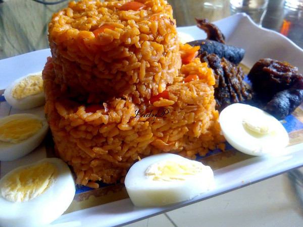 jollof rice by patience