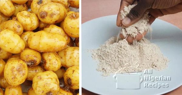tigernuts flour