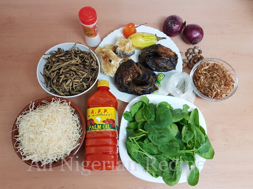 igbo abacha ingredients