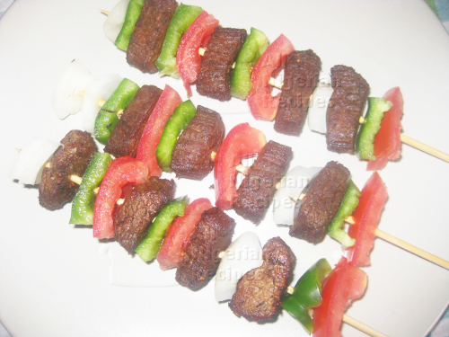 how to cook mediterranean chicken cheese kabob in oven