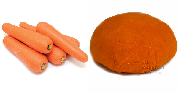 carrot fufu