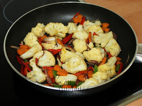 cauliflower stirfry