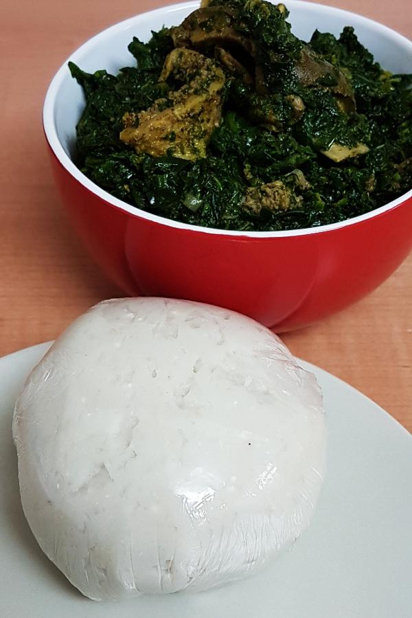 Cocoyam Fufu All Nigerian Food Recipes
