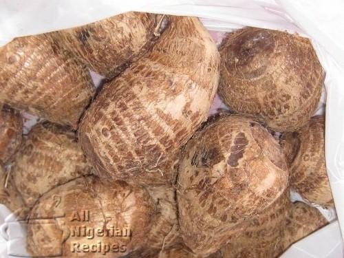 cocoyam corms