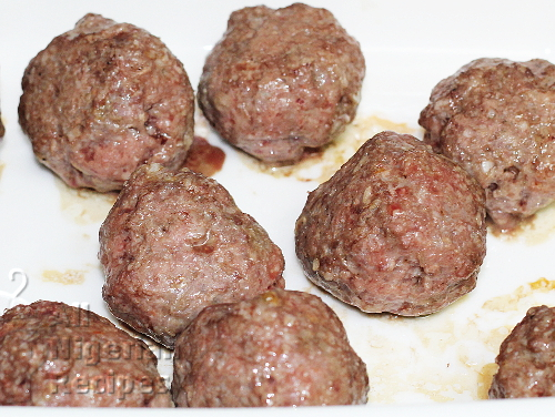 Meat Balls when cooked