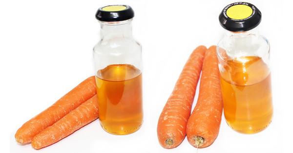 best DIY Carrot Oil