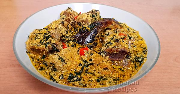 egusi and ogbono soup combo