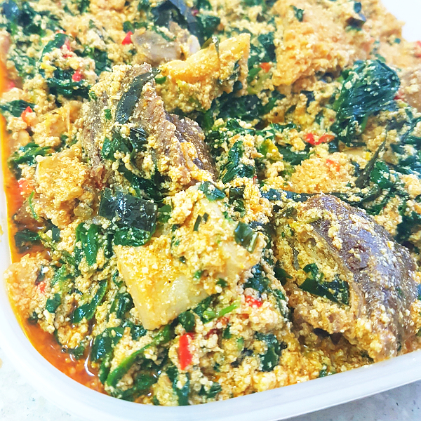 Nigerian egusi soup all nigerian food recipes the nigerian egusi soup prepared with melon seeds is prepared by most tribes in nigeria in many different ways it is known as miyan gushi in hausa forumfinder Gallery