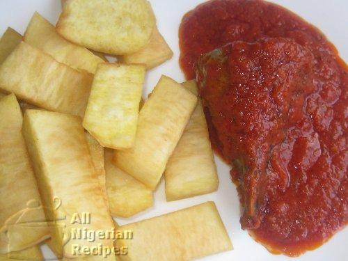 Nigerian Fried YamNigerian Breakfast Food