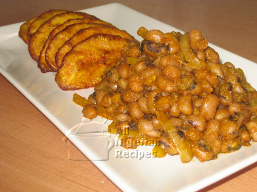 Nigerian Fried Beans