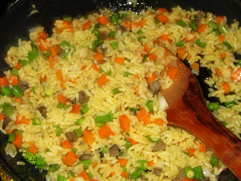 How to make nigerian fried rice step by