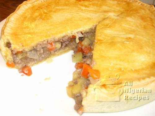 meat pie as dessert