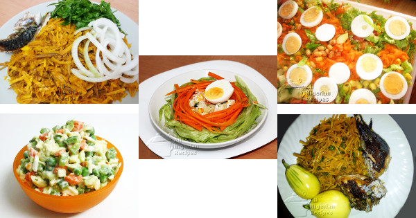 Salad Recipes All Nigerian Food Recipes
