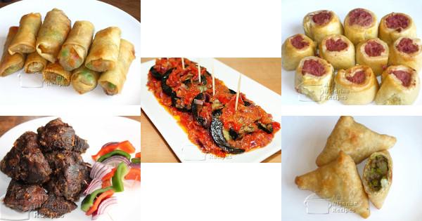 nigerian small chops