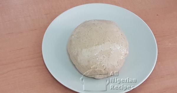 oatmeal fufu