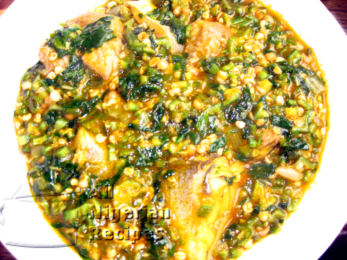 Nigerian okra soup all nigerian food recipes okra soup forumfinder Image collections