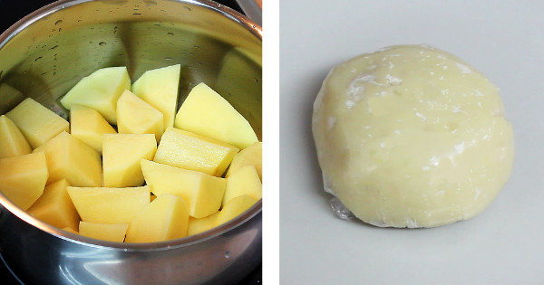 potato fufu