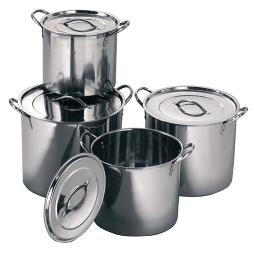 how to make stainless steel pots and pans shine