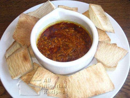 roasted yam