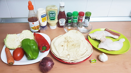 shawarma ingredients