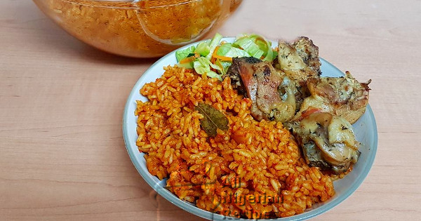 smoky party jollof rice