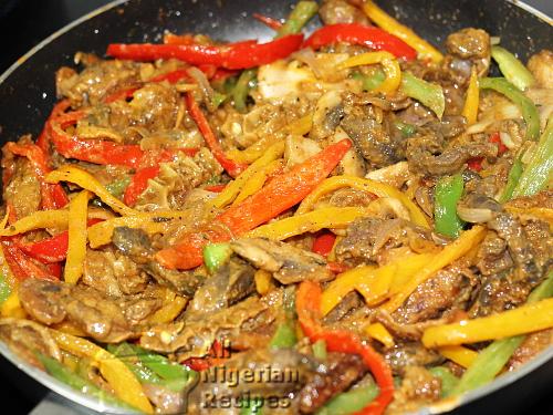 ultimate Nigerian stir fry