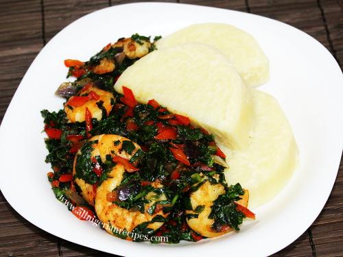 vegetable shrimp sauce