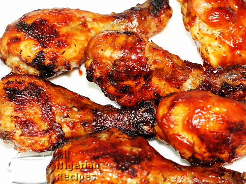 barbecue chicken drumsticks