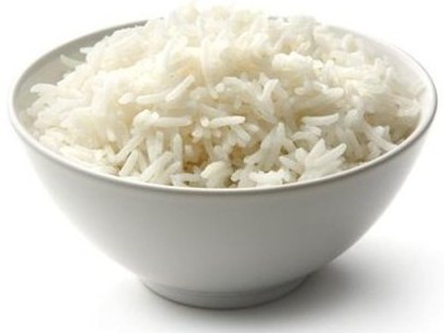 bowl of boiled white rice