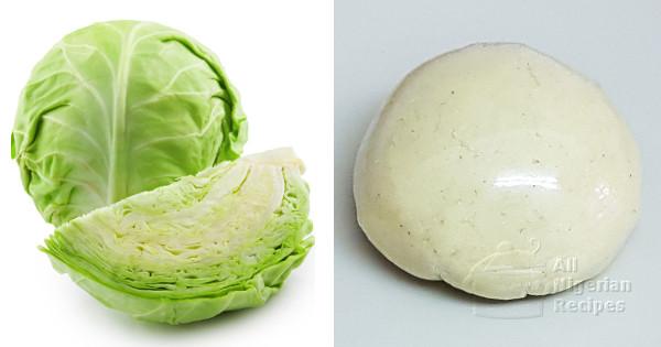 cabbage fufu