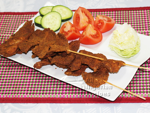 nigerian chicken suya