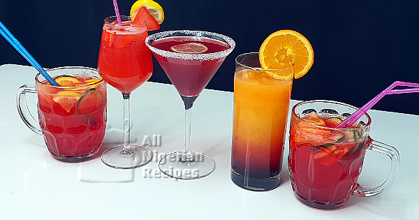 cocktail mocktail drinks