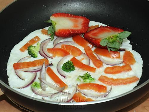 egg whites omelette