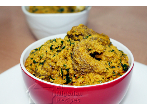Nigerian Egusi Soup Fried Method All Nigerian Recipes