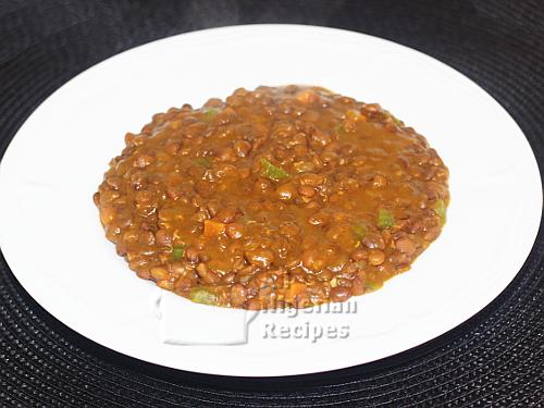 lentils porridge