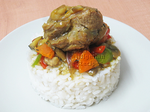 mixed vegetables curry sauce