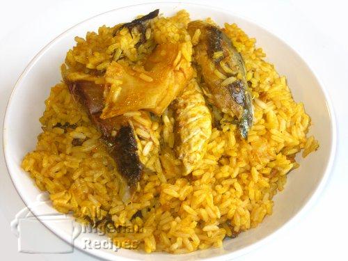 nigerian concoction rice