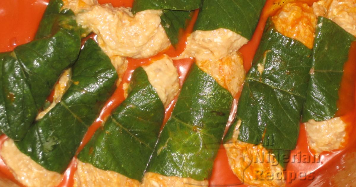 nigerian ekpang nkukwo