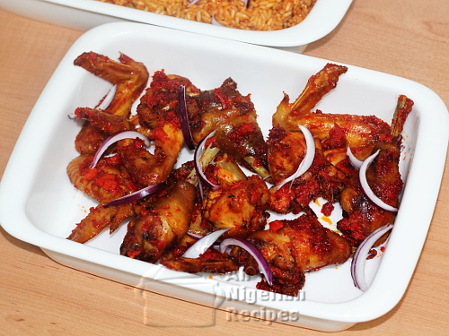 peppered chicken