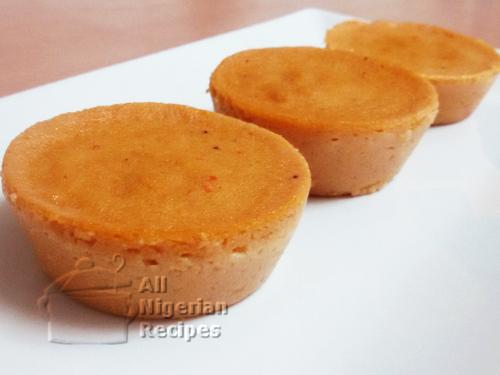 baked nigerian moi moi