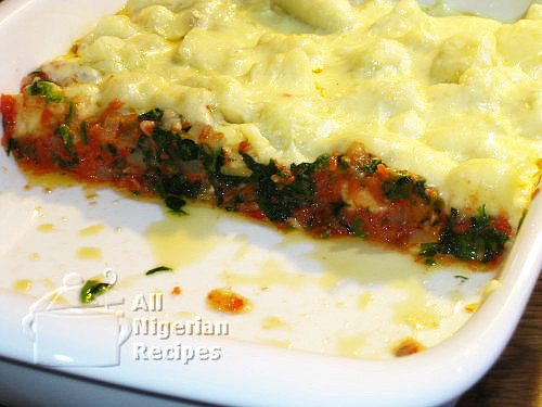 baked yam and cheese