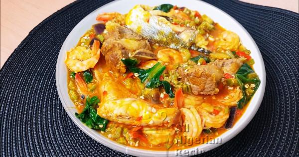 seafood okra soup